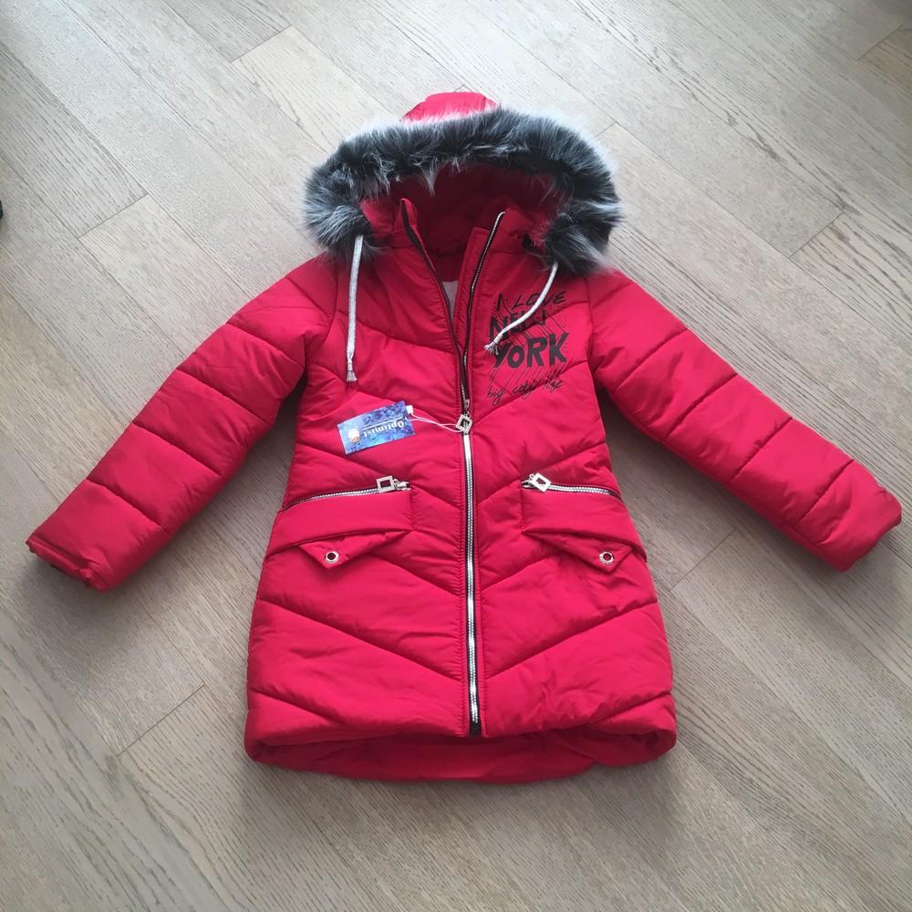 Зимняя куртка для девочки 10-15 лет, a3215 фото №1