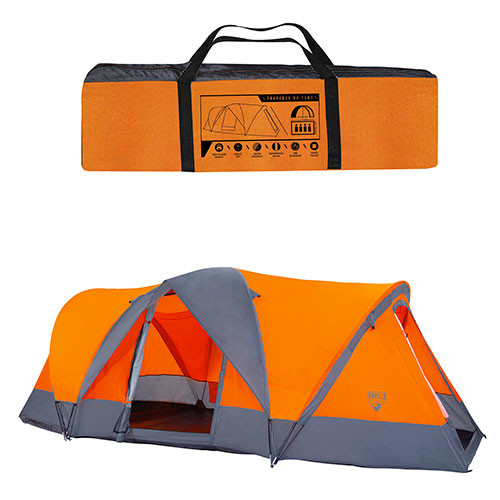 Четырехместная палатка bestway 68003, 480 х 210 х 165 см фото №1