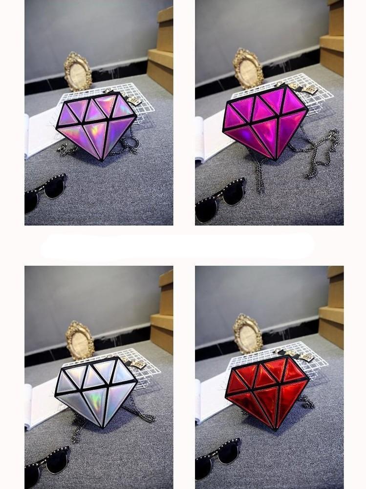 3-51 сумка в формі діаманта бриллиант, алмаз, драгоценный камень фото №1