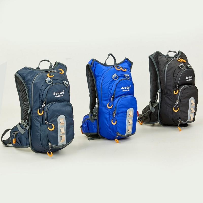 Рюкзак спортивный с жесткой спинкой deuter 802 (ранец спортивный): размер 43х20х15см, 15 литров фото №1