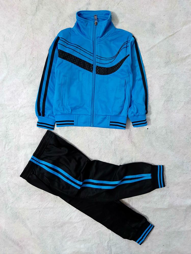 Эластиковые спортивные костюмы мальчикам. 4 цвета, 2 модели. самый лучший и практичный выбор! фото №1