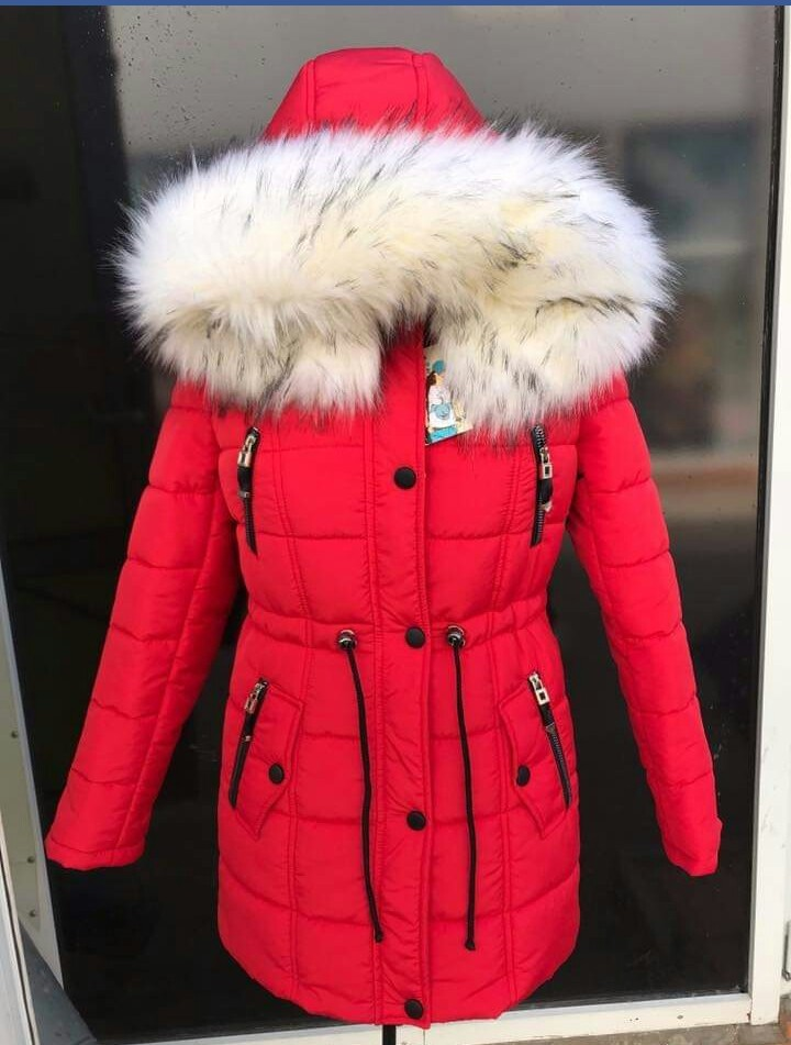 Женская зимняя куртка, парка, полупальто, пуховик. фото №1