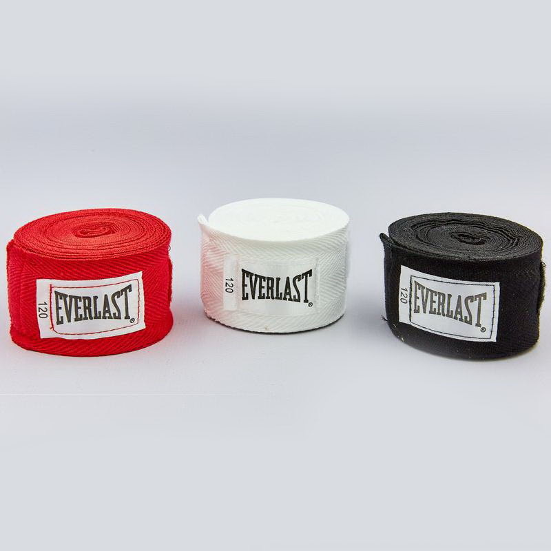Бинты боксерские everlast 4455: длина 2,75м (3 цвета) фото №1