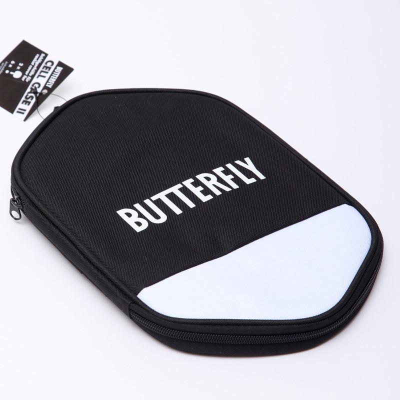 Чехол на ракетку для настольного тенниса butterfly 85117 cell case 85117: нейлон, черный фото №1