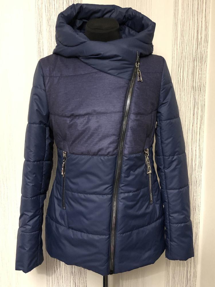Женская демисезонная куртка косуха разные цвета фото №1