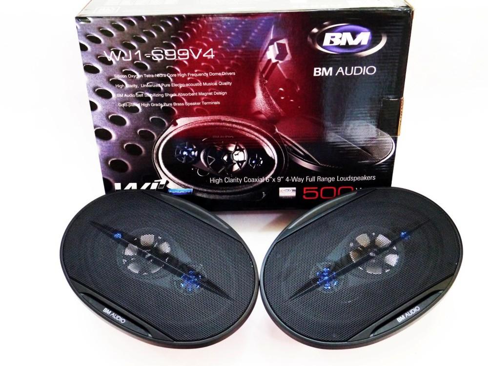 Автоакустика 6x9 boschmann bm audio wj1-s99v4 500w 4х полосные фото №1