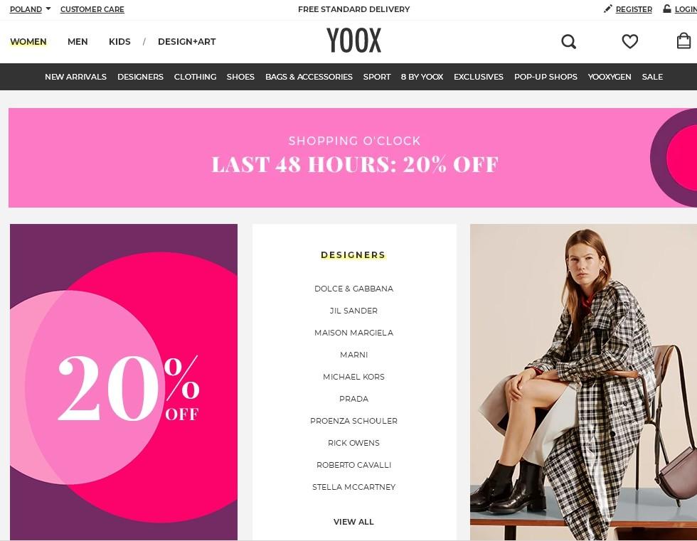 Yoxx - магазин дизайнерской обуви и одежды фото №1