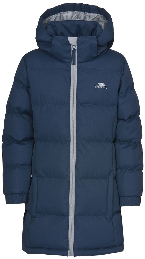 Куртка пальто зимняя на девочку trespass англия оригинал фото №1