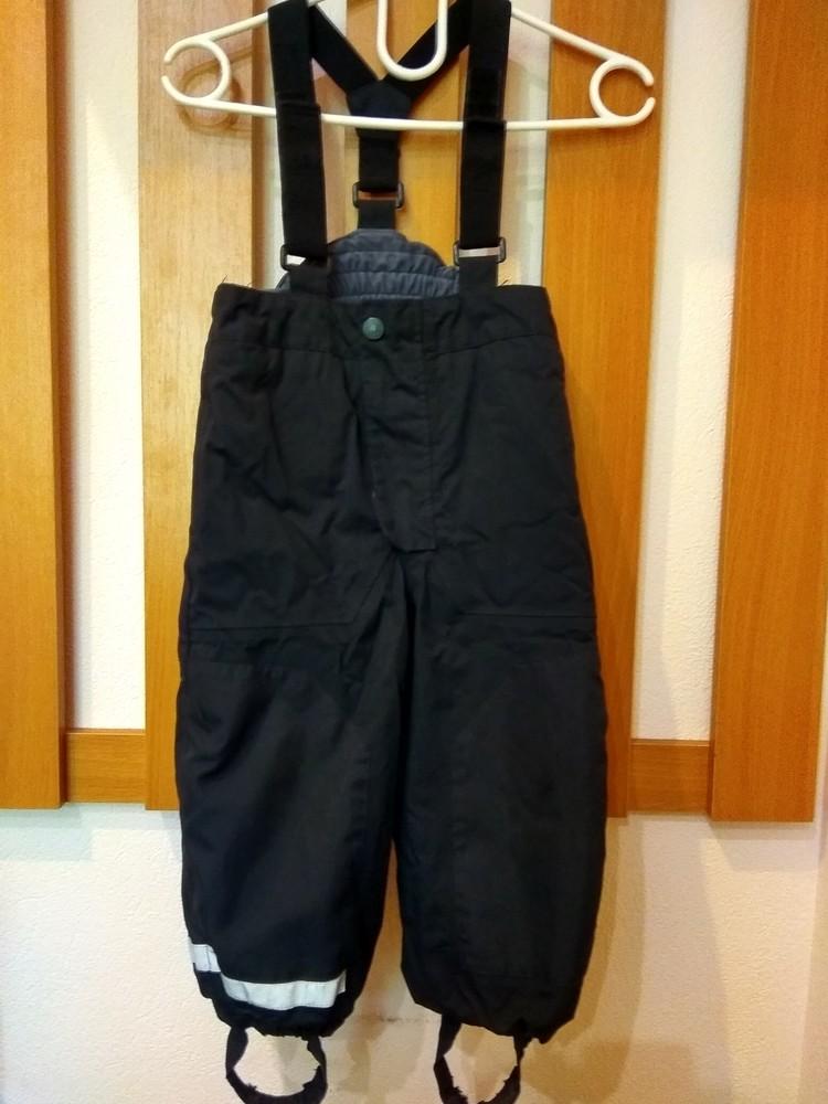 Лыжные штаны 2-3 года h&m фото №1