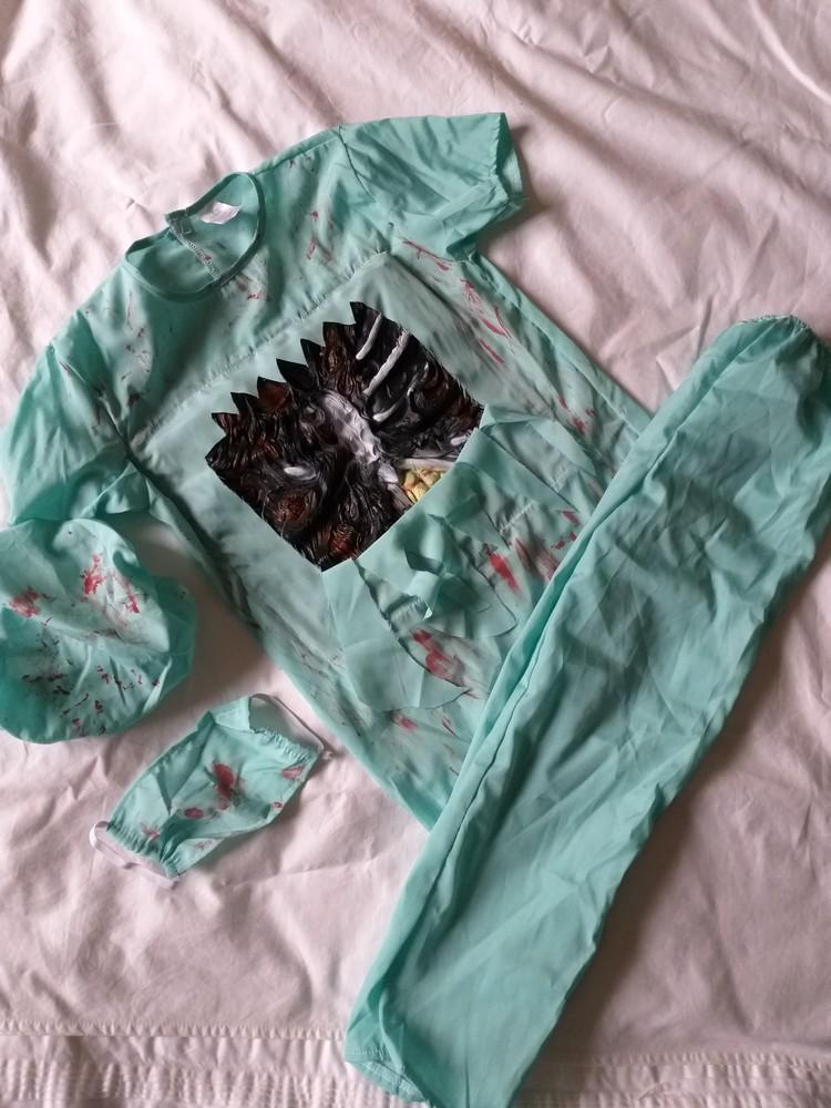 Карнавальный костюм доктор смерть р.140 фото №1