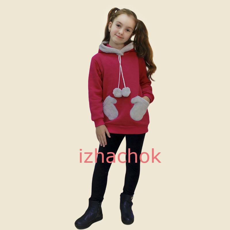 Детская толстовка туника для девочки фото №1