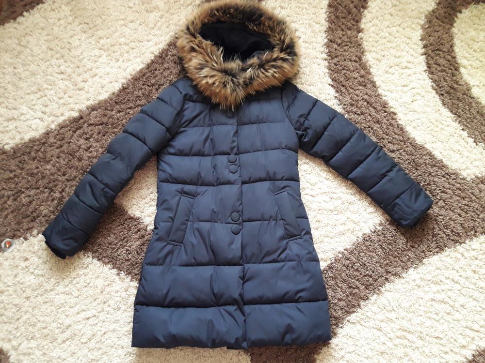 Куртка пальто (енот натур.) фото №1