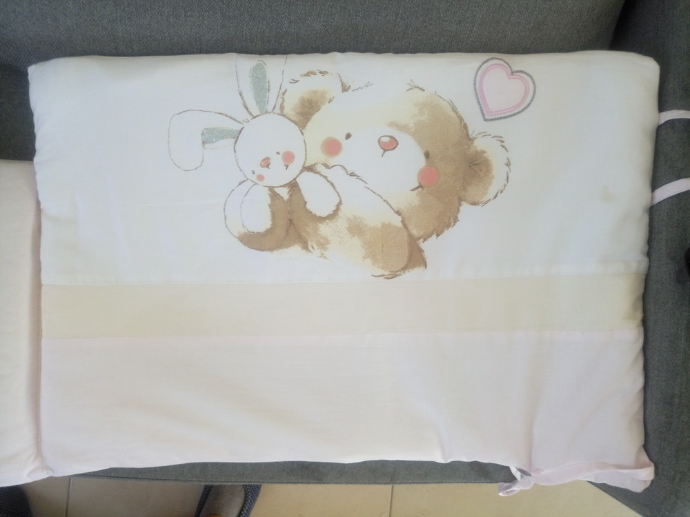 Бортики бампера в детскую кроватку фото №1