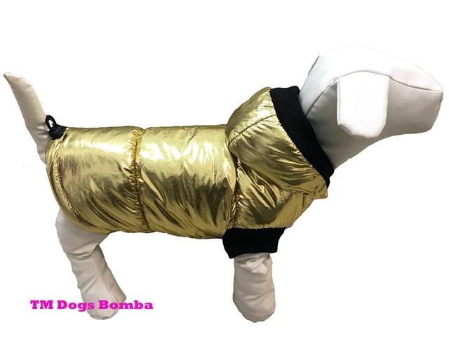 Зимняя жилетка для собак g-19 фото №1