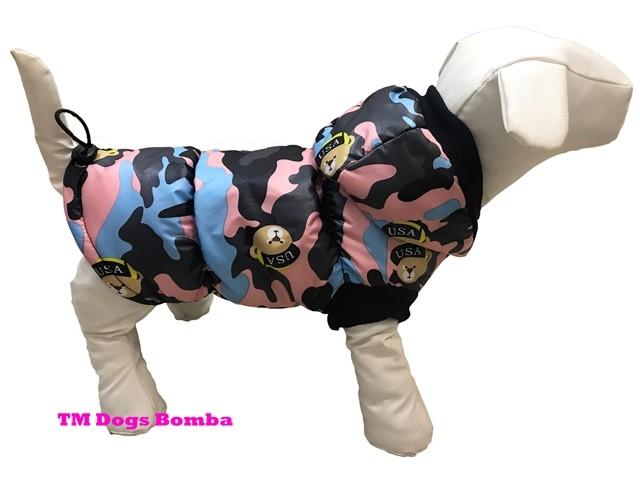 Зимняя жилетка для собак g-18 фото №1