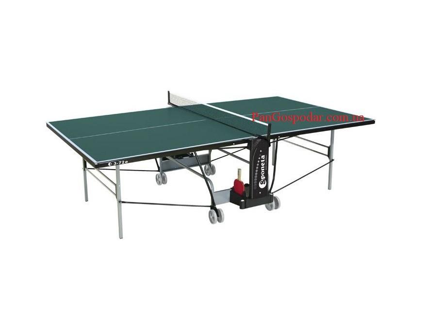 Всепогодный теннисный стол sponeta s 3-72е (германия) фото №1