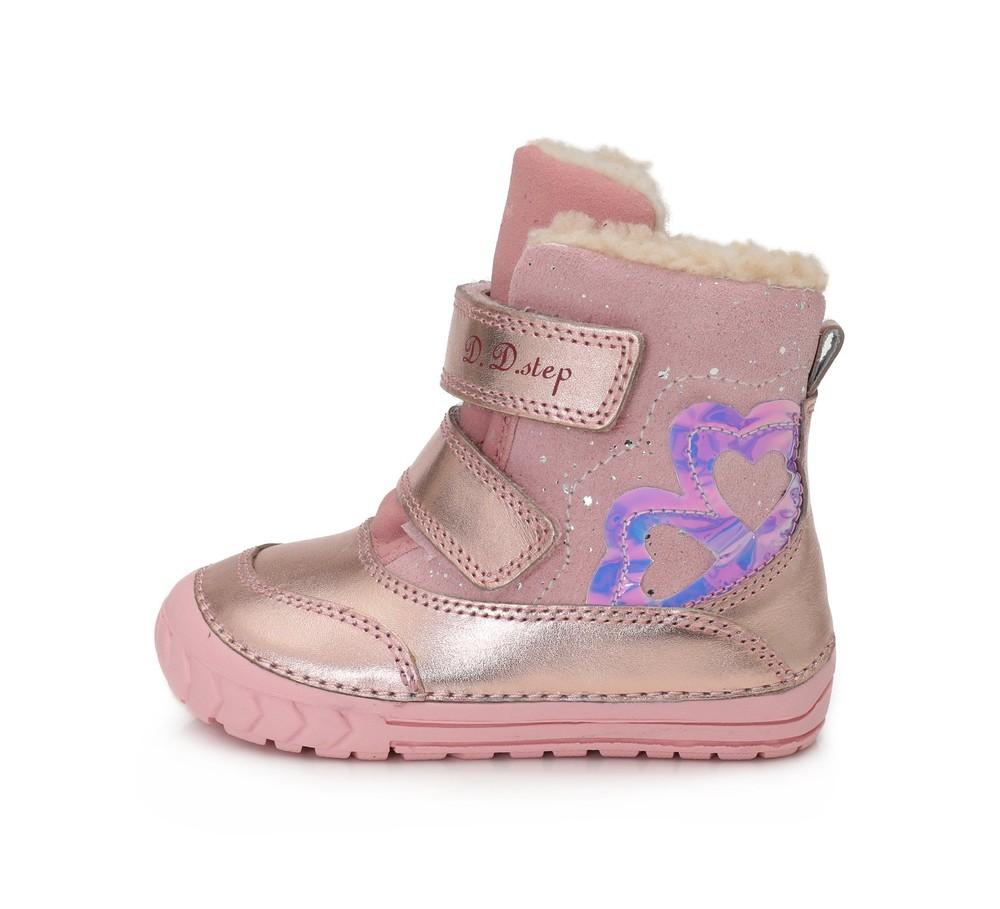 Зимние ботинки для девочки фото №1