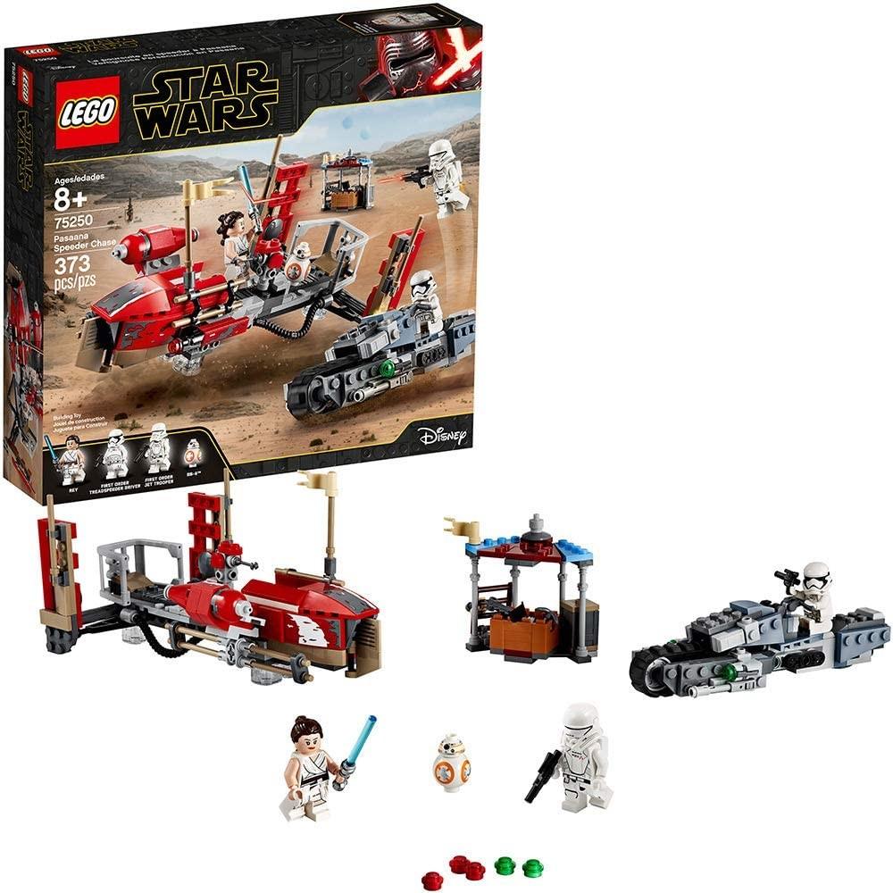Lego star wars 75250 погоня на спидерах в пасаане фото №1