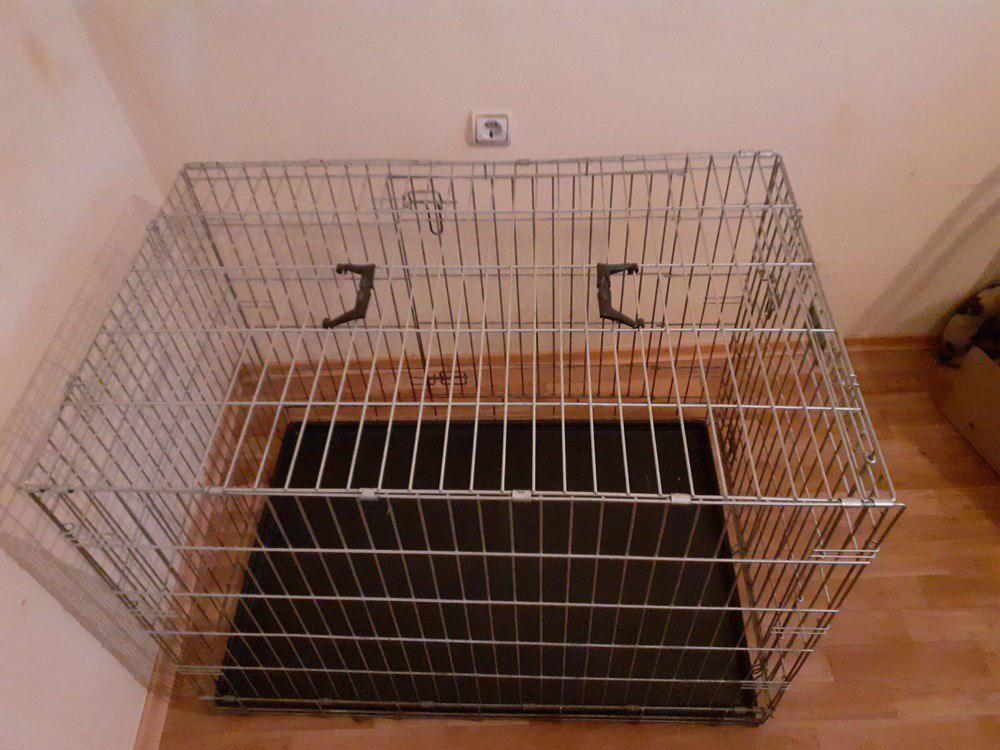 Клетка для собак фото №1