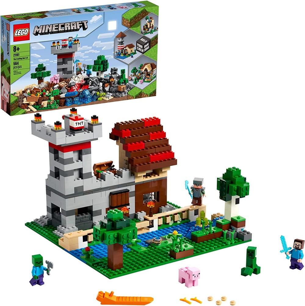 Lego minecraft 21161 верстак 3.0 фото №1