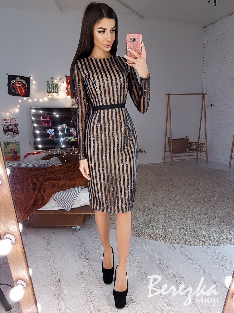 Платье на особый случай новогодгня коллекция фото №1
