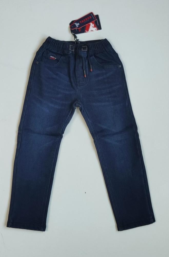 Утеплённые джинсы на флисе для мальчиков taurus. венгрия, 116-146 фото №1