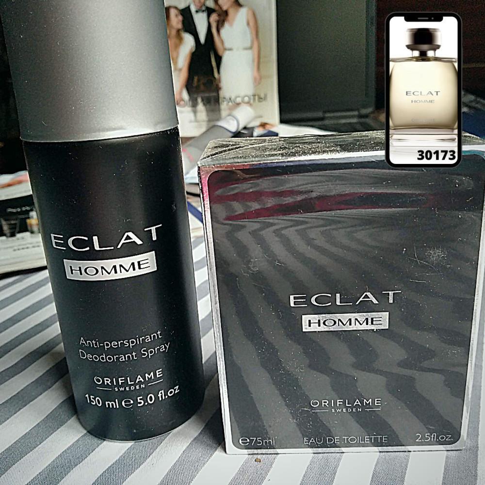 Мужской парфюмерный набор eclat homme фото №1