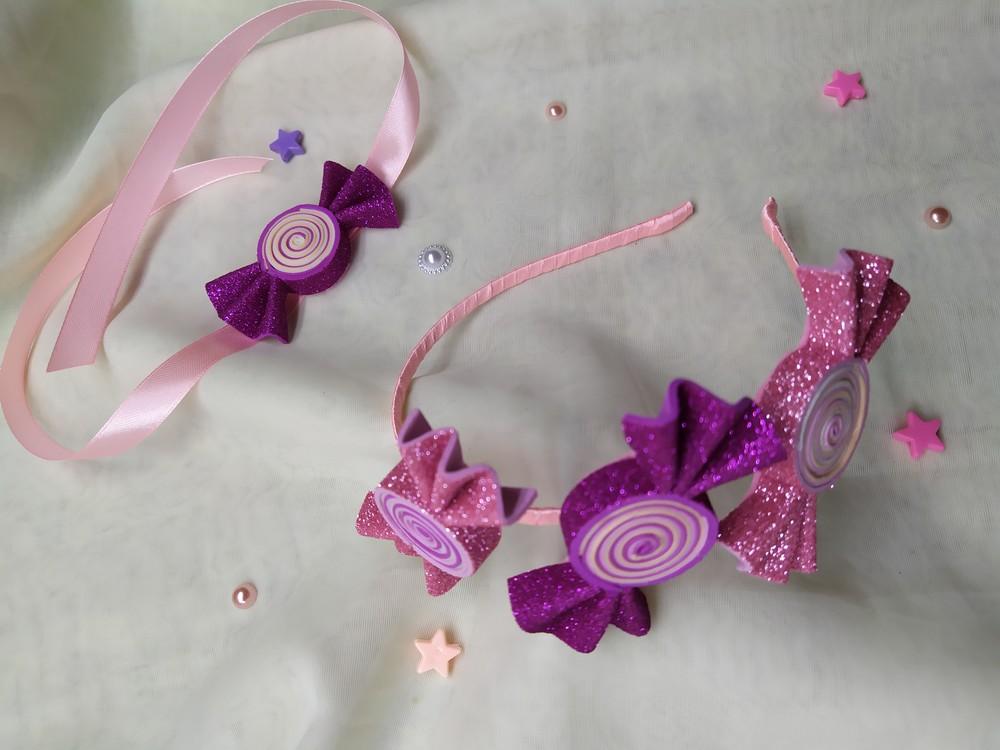 Обруч конфетка, цукерка, цукерочка, набор фото №1