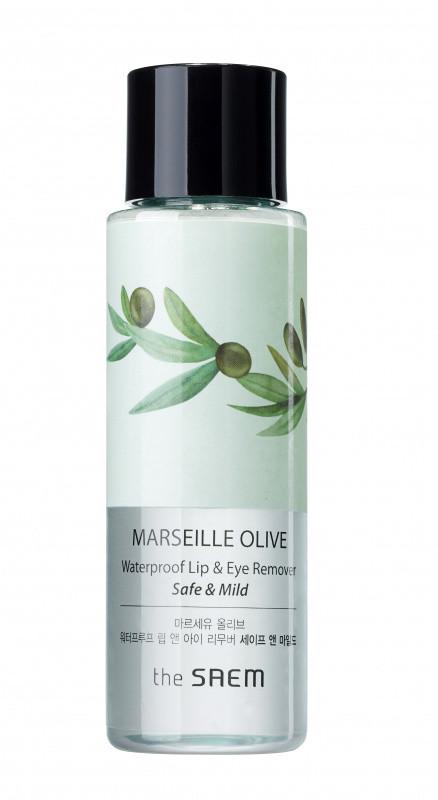 The saem marseille olive waterproof lip & eye remover safe & mild фото №1