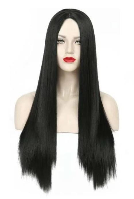 Парик черный длинные волосы (арт 2985) фото №1