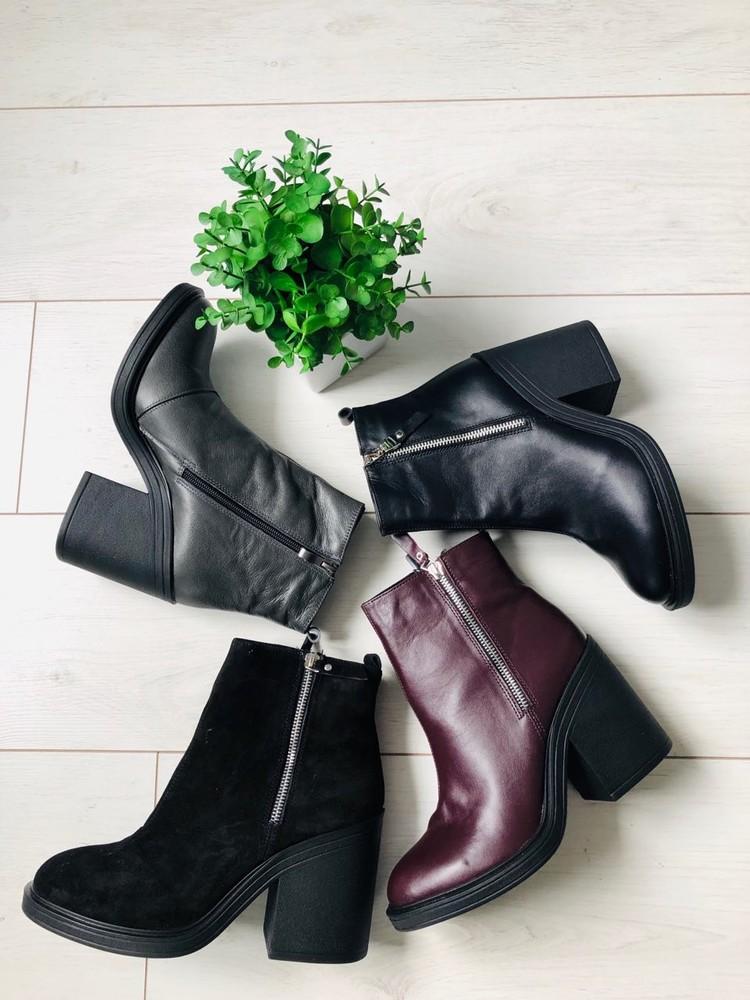 Ботинки женские зимние фото №1