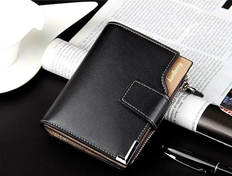 Мужской mini кошелек wallet baellerry фото №1