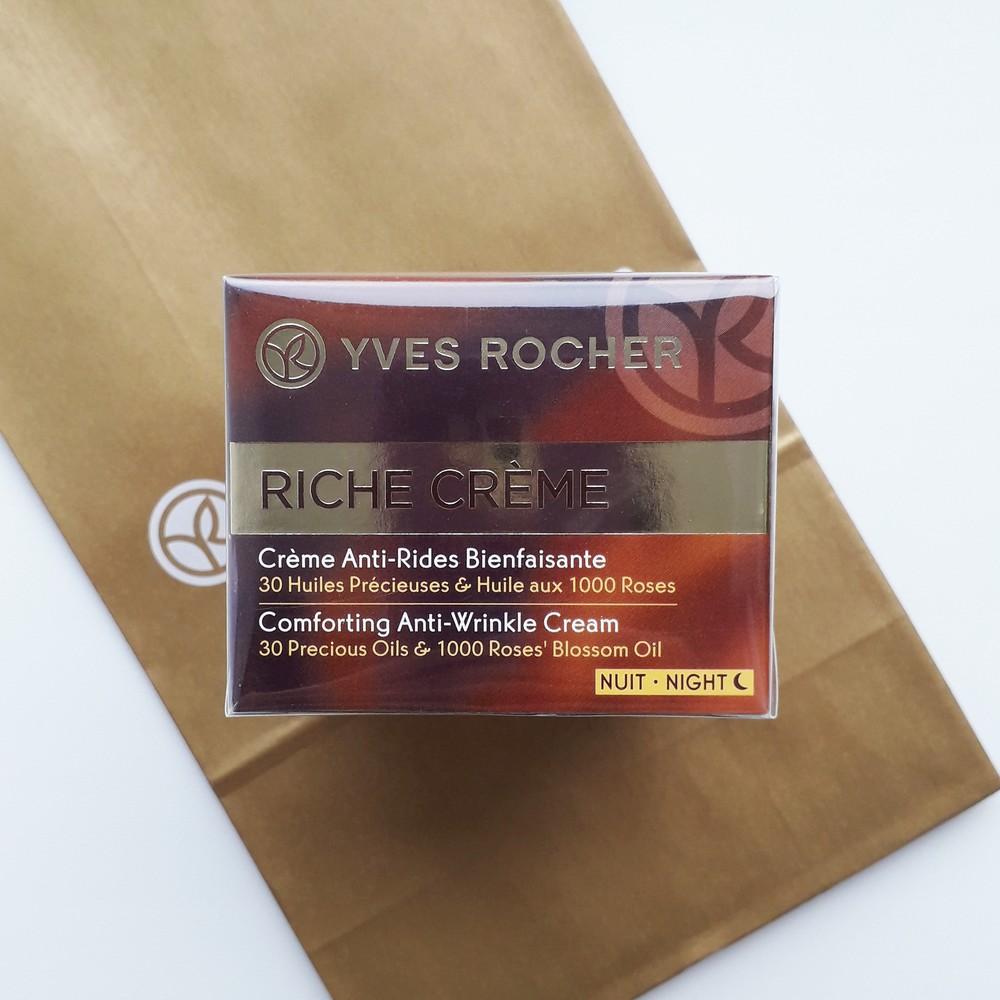 Riche creme ночной благотворный крем от морщин yves rocher фото №1