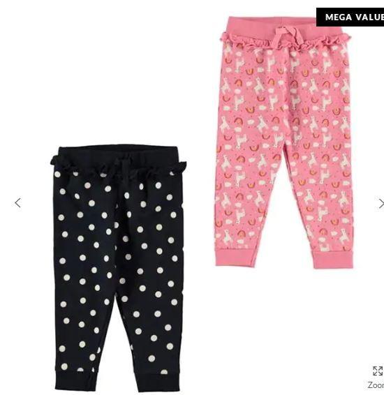 Наборы спортивных штанишек для деток. размеры 9-12, 12-18, 18-24 мес. цена 250 грн за комплект 2 шт фото №1