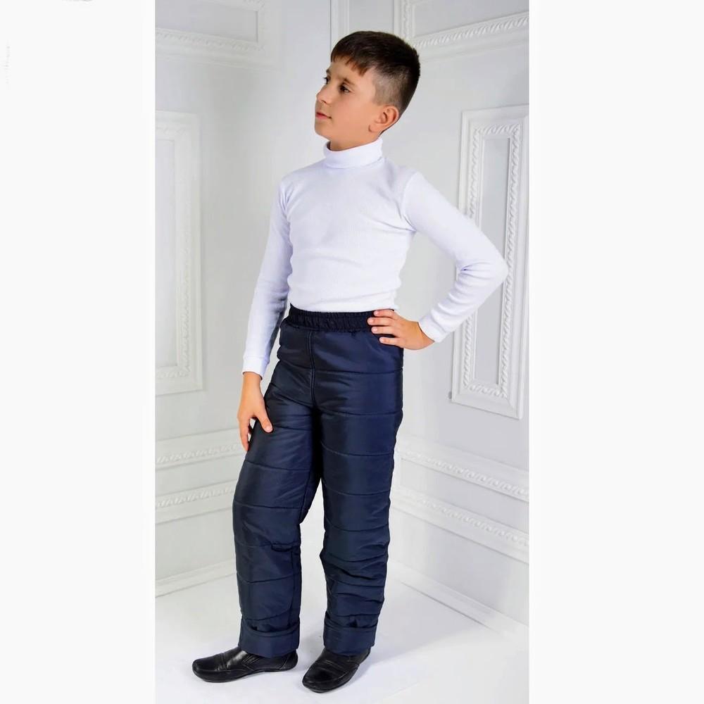 Детские теплые зимние штаны 98-140 см фото №1
