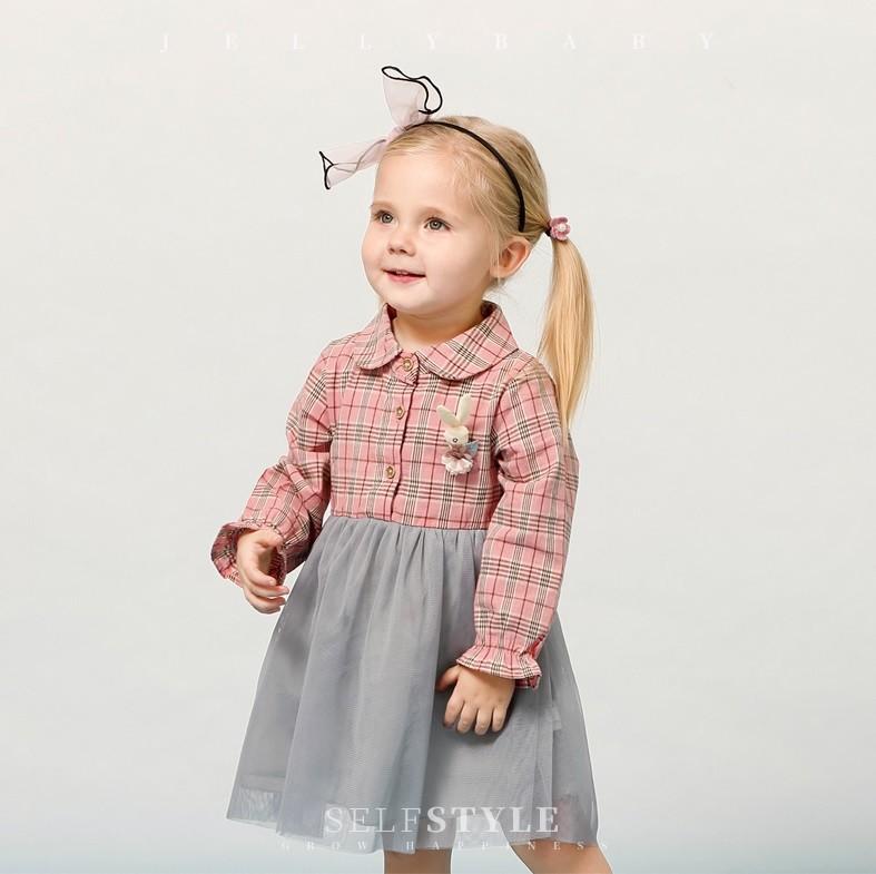 Платье в клеточку jelly baby фото №1
