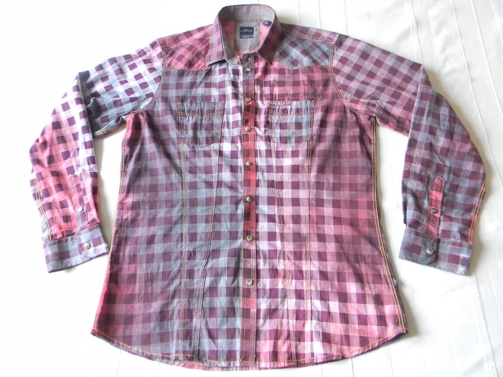 Мужская рубашка с длинным рукавом engbers р.l хлопок фото №1