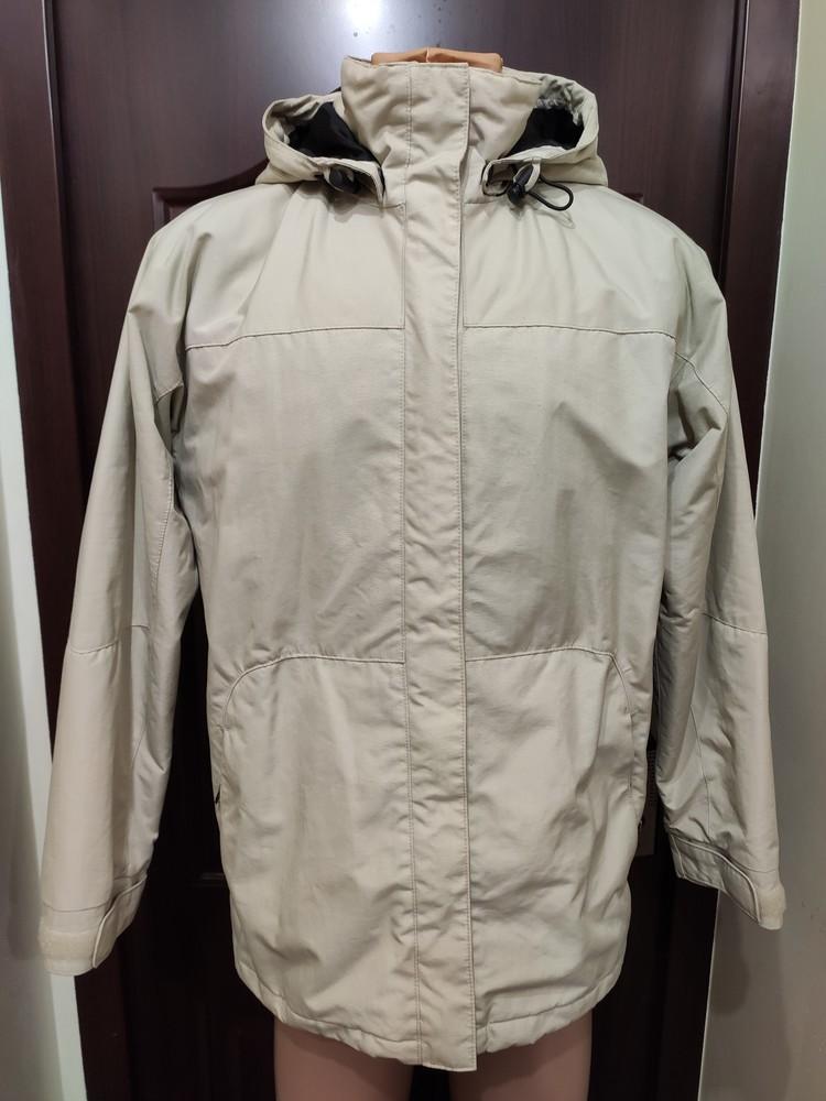 Clique мужская удлиненная демисезонная куртка фото №1