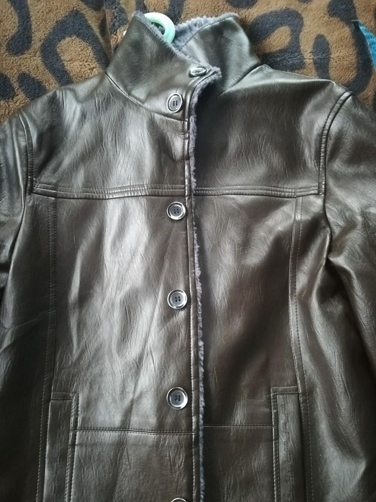 Куртка з якісної екошкіри фото №1