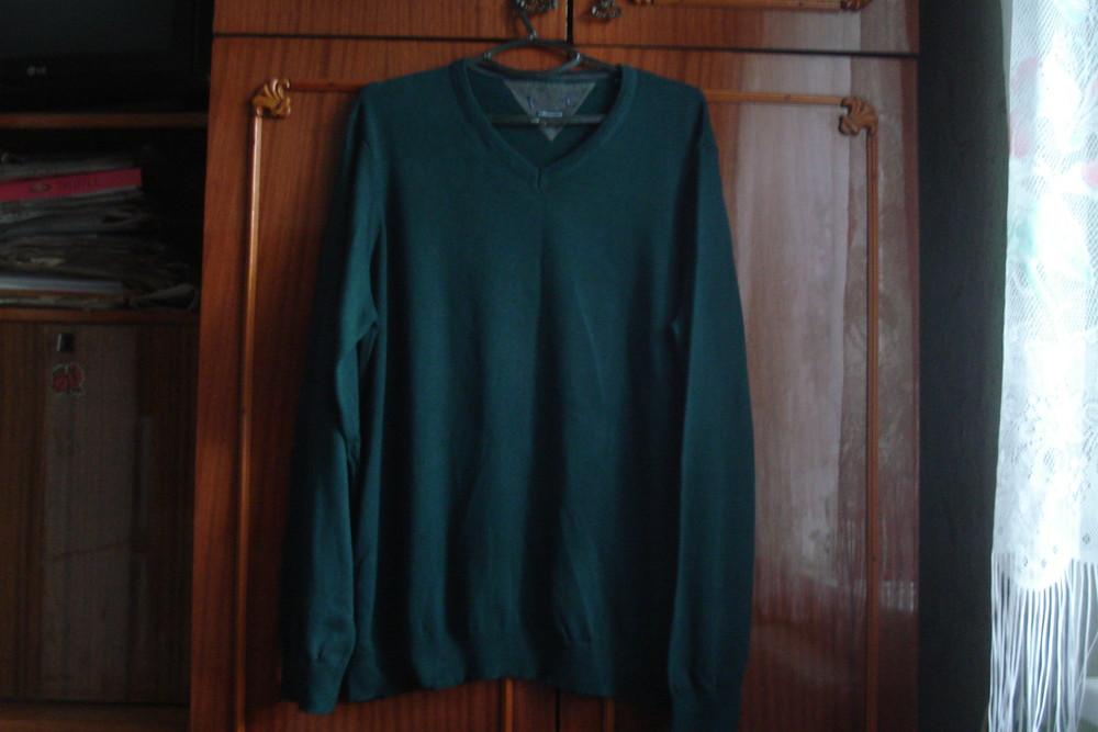 Сharles voegele 2xl брендовый мужской фирменный теплый свитер 100% cotton фото №1
