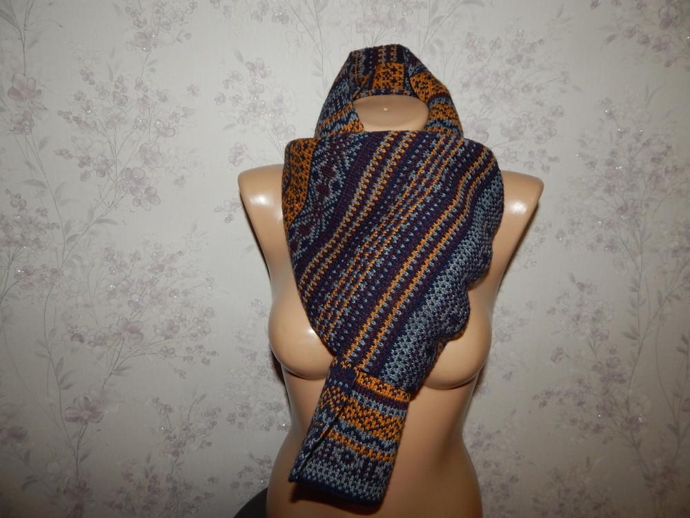 George шарф мужской стильный модный тёплый новый фото №1