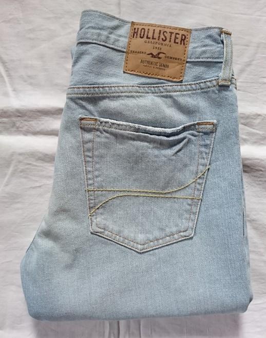 Hollister джинсы slim straight оригинал (w32 l34) фото №1