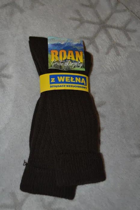 Новые тёплые шерстяные носки roan польша размер 42-43 фото №1