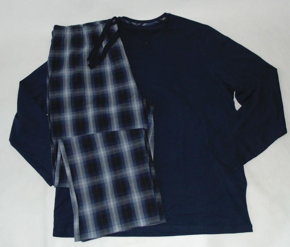 Пижама трикотаж-фланель george-primark ххл фото №1