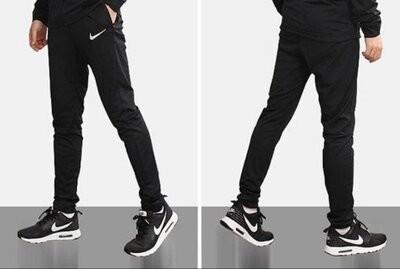 Спортивные лёгкие тренировочные штаны nike academy 16 tracksuit 808757-010 р.46-48s длина 102см. фото №1