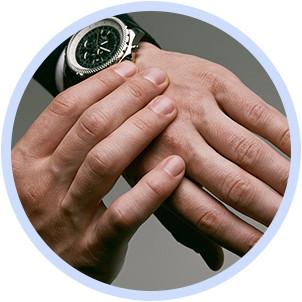 Маникюр мужской и женской, покрытие гель-лаком, укрепление ногтей фото №1