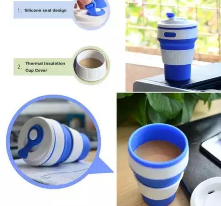 Чашка раскладная (силиконовая) 350 мл фото №1