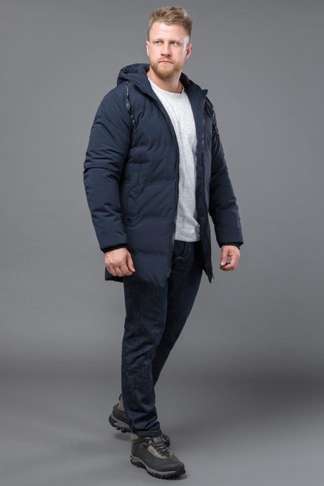 Теплая мужская куртка на меху tiger force, скидка! фото №1