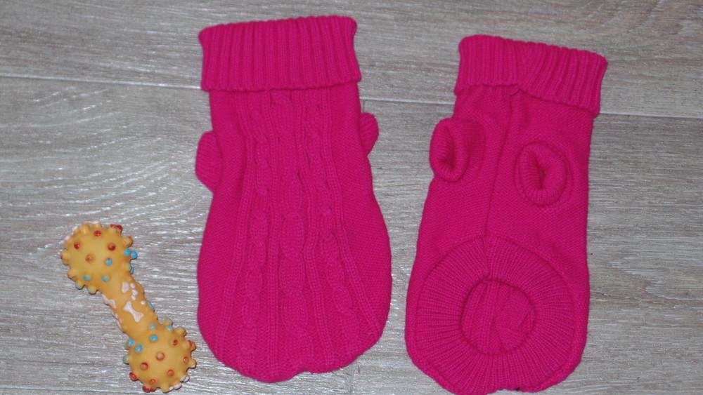Теплые свитерки для собачки или кота рs-m дл 22 фото №1