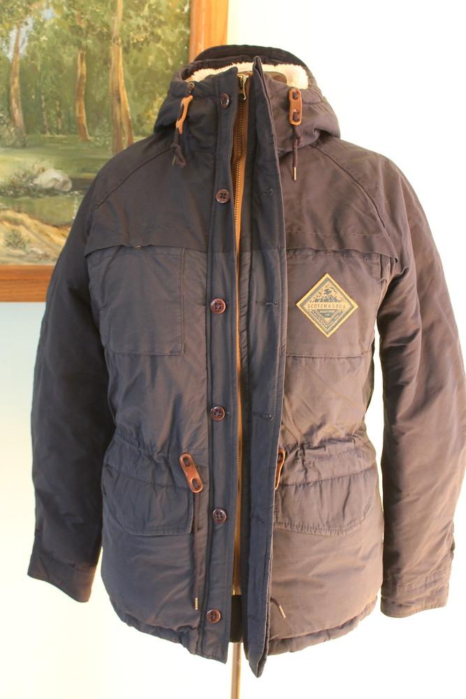 Зимова куртка scotch & soda фото №1